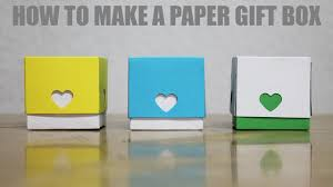 how to make a gift box for boyfriend diy paper love box