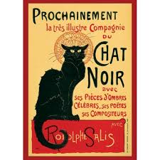 tournee du noir turn of the black cat painting poster um pp0508 paintings home18