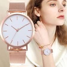 Women <b>Watches</b> Bayan Kol Saati <b>Fashion Rose</b> Gold Silver <b>Luxury</b> ...