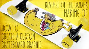 Design Your Own Skate Deck How To Create A Custom Skateboard Graphic