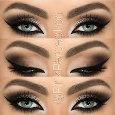 throwback to this look loving the color bo deets edgy eye makeupclaire s makeupbrown smokey