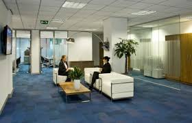office seating area. Serviced Office Space In Central Manchester · Break Out Area Near Reception At Abbey Seating