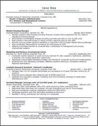 Sample Resume With No Job Experience  cover letter sample resume     mba resume template download