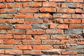 brick wall orange texture stone