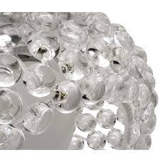 halo 25 acrylic chandelier
