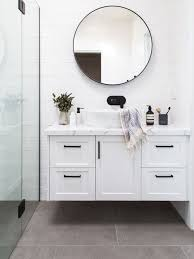 transitional bathroom ideas. Unique Bathroom Photo Of A Transitional Bathroom In Melbourne With Shaker Cabinets White  Curbless Throughout Transitional Bathroom Ideas R