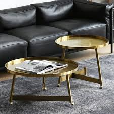 stylish gold coffee table small medium
