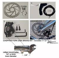 chopper bicycle parts