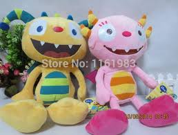 henry hugglemonster plush toys 32cm summer plush and henry plush 2pcs set