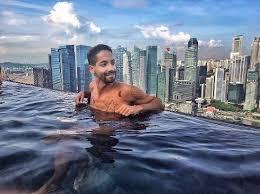 infinity pool singapore. Beautiful Infinity Marina Bay Sands Infinity Pool View On Singapore C