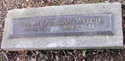 Ida Helon Duncan Welch (1888-1944) - Find A Grave Memorial