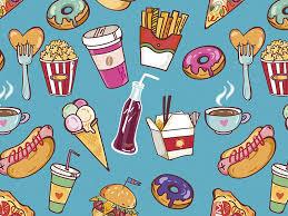 junk food background tumblr. Fast Food Pattern Wallpaper Desktop Wallpapers Art Backgrounds And Junk Background Tumblr