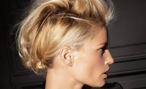 Coiffure Rock Femme Mariage Coupe Cheveux Degrade