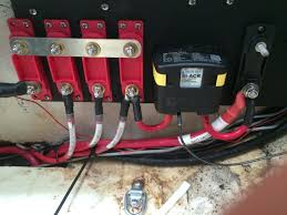 electrical system rogue recommends you install a breaker in between the panels and the controller i used a blue sea systems 60 amp circuit breaker