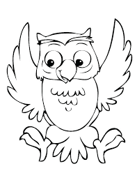 Cute Owl Coloring Page Cute Owl Coloring Pages Owl Coloring Pages
