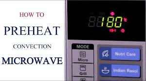 Microwave To Oven Conversion Chart How To Pre Heat A Convection Microwave Oven Series Cakes And More