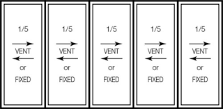 Casement Window Sizes For Vinyl Windows Stanek Windows