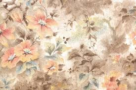 vintage wallpaper. Wonderful Vintage 1930s Floral Vintage Wallpaper Intended L
