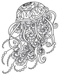 Small Picture Drawn jellies coloring book Pencil and in color drawn jellies