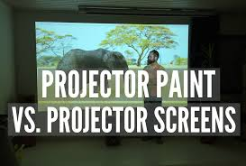 in today s post we have provided a comparison of traditional projector screens with smart projector paint in terms of sizing appearance and