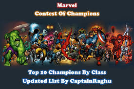 Mcoc Top 10 Champions By Class November 2019 Updated List