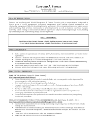 Resume Example Small Business Banker Examples Sample Shalomhouse Us