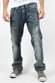 Rock Revival Size Chart Rock Revival Mens Aiden Relaxed Straight Leg Denim Jeans
