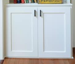 Make Shaker Cabinet Doors Frameless Glass Cabinet Doors How To ...