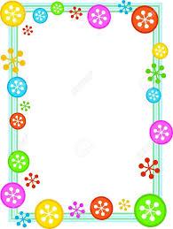 frame border design. Charming Colourful Border Designs : Festive Retro Snowflake Frame Design Stock Photo