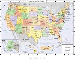 atlas map presentday united states