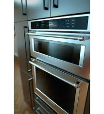kitchenaid double wall oven monogram professional