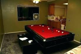basement pool table. Pool Table Room Ideas Small In A Basement Fam .