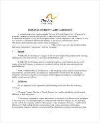 10+ Employee Confidentiality Agreement Templates - Pdf | Free ...