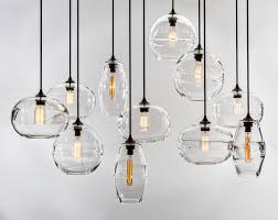 clear band pendant by john pomp made to order designer lighting from dering hall s collection of contemporary transitional rustic folk