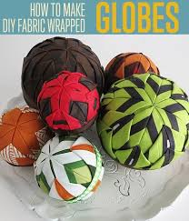 How To Decorate Styrofoam Balls How to Make Fabric Covered Styrofoam Balls DIY Projects Craft 47