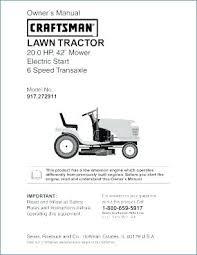 craftsman lawn tractor 0 hp in mower electric model 917 manual Craftsman Model 917252700 Wiring-Diagram at Craftsman Model 917 Wiring Diagram