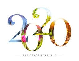 Youth Revival Scriptures 2020 Fundraising Scripture Calendar