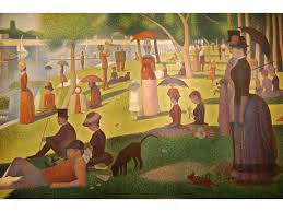 georges seurat a sunday afternoon on the island of la grande jatte 1884