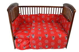 nc state crib bedding