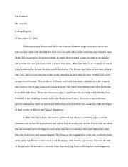the most striking difference between anita and the nurse is anitas 3 pages compare and contrast essay