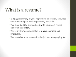Cover Letter Resume And References Ppt Video Online Download Inspiration Whats A Cover Letter For Resume
