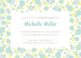 Farewell Invites For Colleagues This Cheerful Farewell Invitation Is A Delightful Way To Say