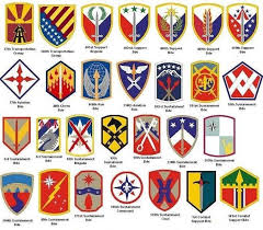 Us Army Patch Chart Punctilious Us Army Patches Chart 2019