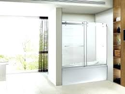 full size of shower tub doors trackless series in to x sliding bathrooms menards showers and