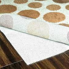 non slip area rug pad ding no slip rug pad for carpet