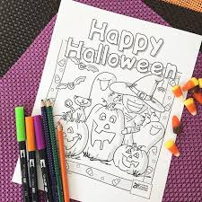 Cute Halloween Coloring Pages 100 Directions