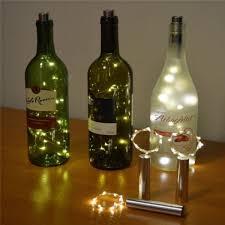 wine bottle lighting. Fine Wine Wish  Bottle Lights Cork Shape For Wine Starry String  Party For Lighting