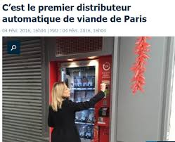 French Vending Machine Extraordinary Welcome To France Where Pig's Entrails Eggs And Cheese Are Sold