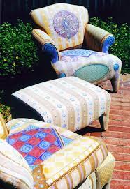 cloth chairs furniture. handpainted fabric furniture floorcloths pillows ceramics murals cloth chairs