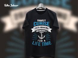 Cruise Tee Shirt Designs Cruise T Shirt Design 003 By Talha Jubaer On Dribbble